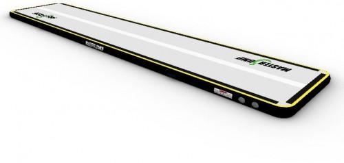 Airtrack MASTERJUMP nafukovacia žinenka 600 x 100 x 20 cm - sivo-čierna