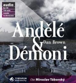 Andělé a démoni audiokniha