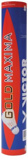 Badmintonové perové loptičky VICTOR Maxima - modré 12ks
