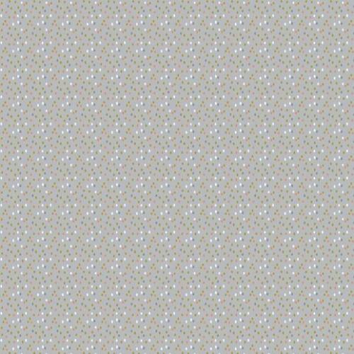 Bavlnená látka Glitter confetti grey