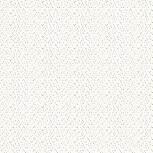 Bavlnená látka Glitter confetti white