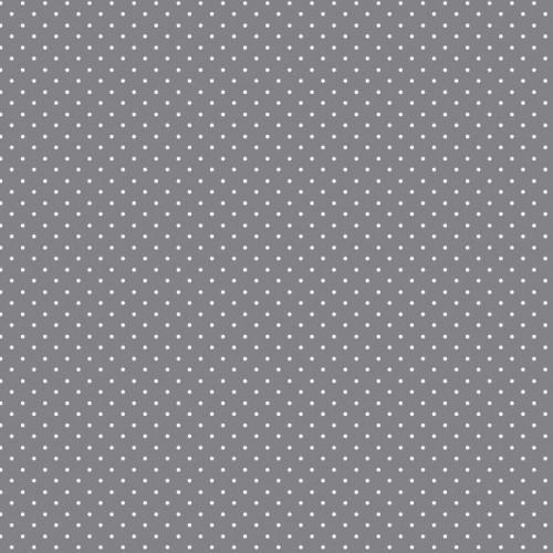 Bavlnená látka Petit dots grey