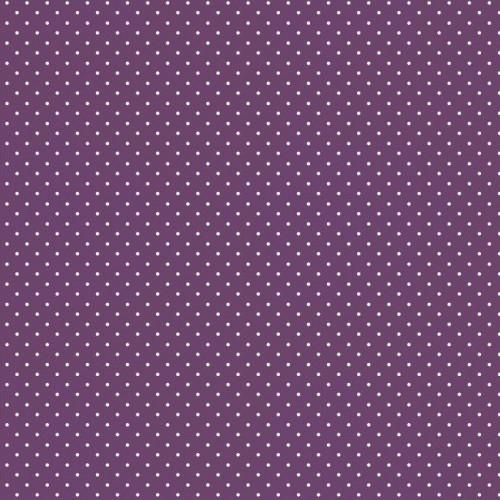 Bavlnená látka Petit dots purple