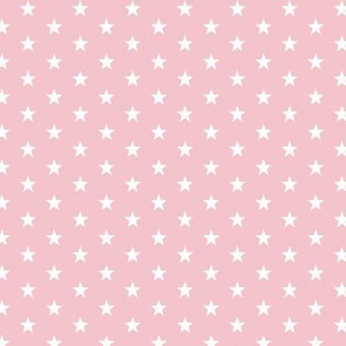 Bavlnená látka Petit stars rose