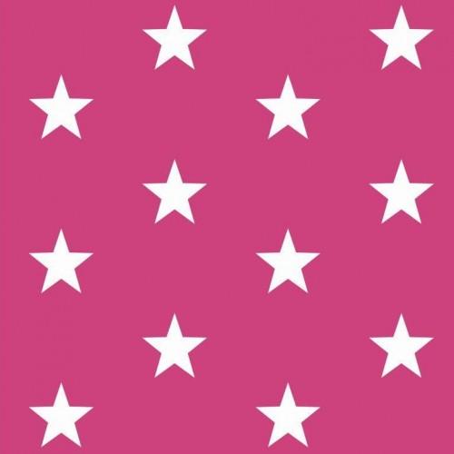 Bavlnená látka Stars pink