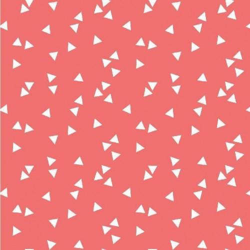 Bavlnená látka Triangle coral