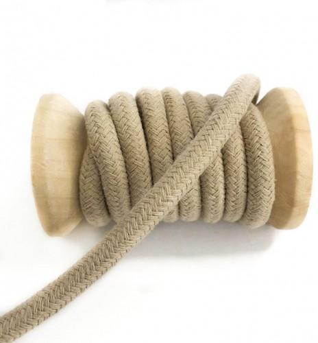 Bavlnená šnúra 10 mm sand