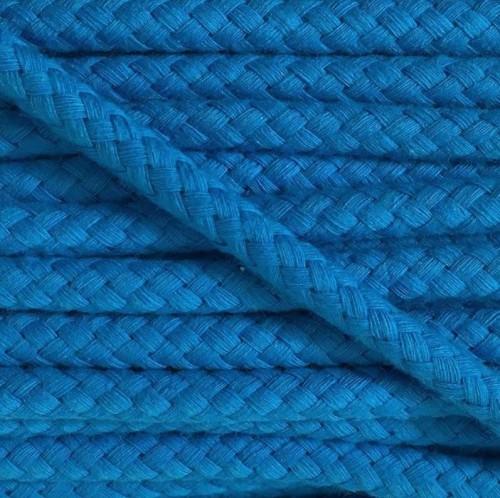 Bavlnená šnúra 8 mm blue