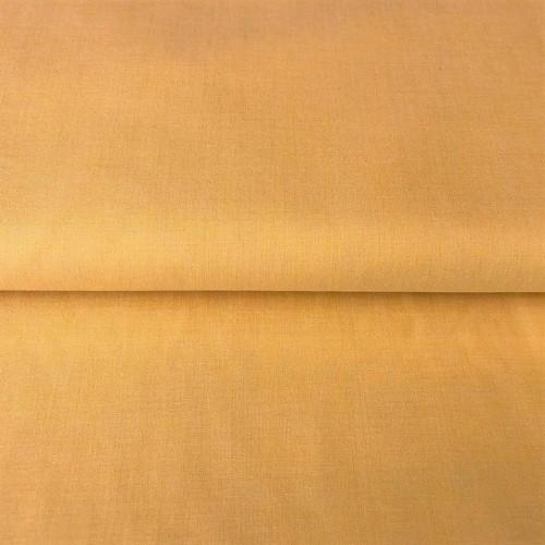 Bavlnený popelín Yarn dyed yellow