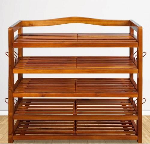 Botník z akátového dřeva D5380 Dekorhome