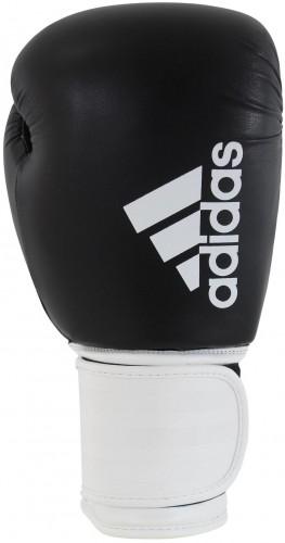 Boxovacie rukavice ADIDAS Hybrid 100 - čierno-biele 12oz.