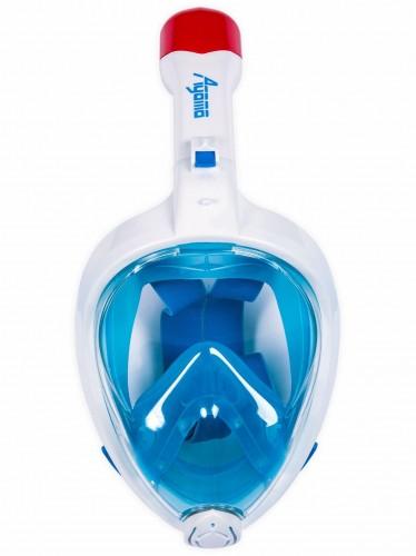 Celotvárová maska AGAMA Marlin modrá - veľ. S-M