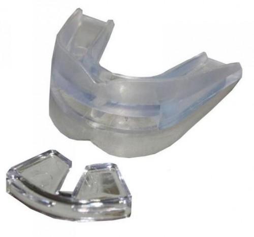 Chrániče zubov EVERLAST Double - priehľadný