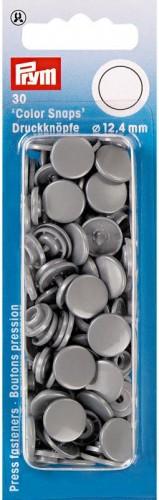 Colorsnaps PRYM silver grey