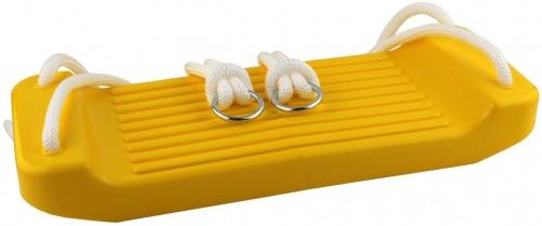 Detská hojdačka MASTER rovná plast - žltá