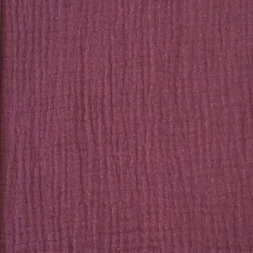 Dvojitá gázovina/mušelín purple
