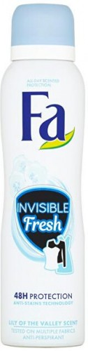 Fa Antiperspirant Invisible Fresh 48H Protection Lily of the Valley (Anti-perspirant) 150 ml