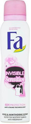 Fa Antiperspirant v spreji Invisible Sensitiv e Rose & Hawthorne (Anti-perspirant) 150 ml