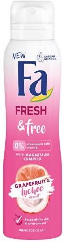 Fa Dezodorant Fresh & Free Grapefruit & Lychee (48H Deodorant) 150 ml
