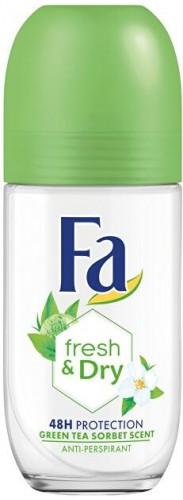 Fa Guľôčkový antiperspirant Fresh & Dry Green Tea Sorbet (Anti-perspirant) 50 ml