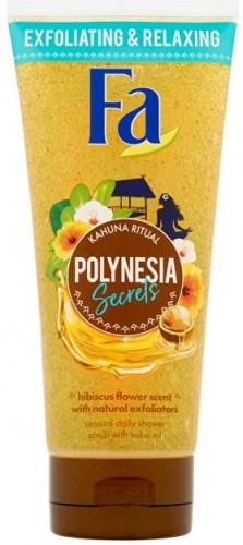 Fa Tělo vý peeling Kahuna Ritual Polynesia Secrets (Shower Scrub) 200 ml