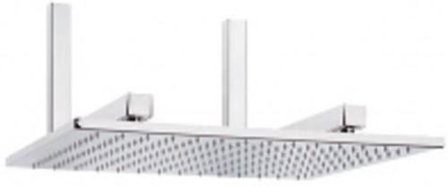 Flexton - hlavová pevná sprcha MAGNUM QUADRO, 50x50cm, chróm, TEFL 9TH17