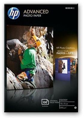 Fotopapier HP Advanced Photo Paper, lesklý, 10 x 15cm, bez okraj,... Fotopapír