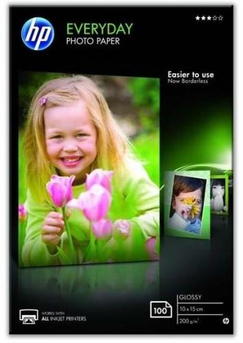 Fotopapier HP Glossy Photo 10x15, 200g, 100 listů (CR757A...