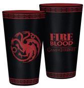 Game of Thrones: Targaryen sklenice 400 ml