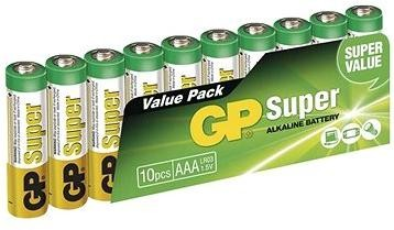 GP Super Alkaline LR03 (AAA) 10ks v blistru