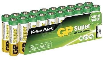GP Super Alkaline LR03 (AAA) 20ks v blistru