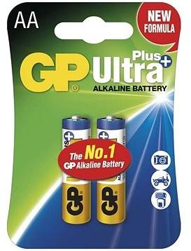 GP Ultra Plus Alkaline LR6 (AA) 2ks v blistru