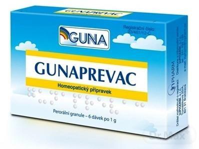 GUNAPREVAC homeopatikum, 6x1 g