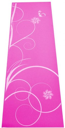 Gymnastická podložka SPARTAN Yoga Matte 0,4 - ružová