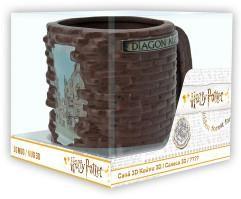 Harry Potter: Příčná ulice hrnek3D 500 ml