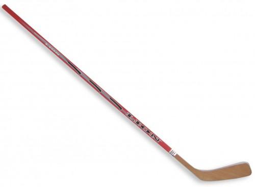 Hokejka LION 3377 - 147 cm ľavá - červená