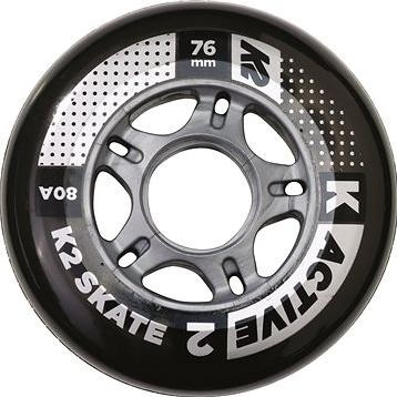 K2 76 mm ACTIVE WHEEL 4-PACK