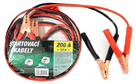 Káble štartovacie 200A 2,5m COMPASS 01121