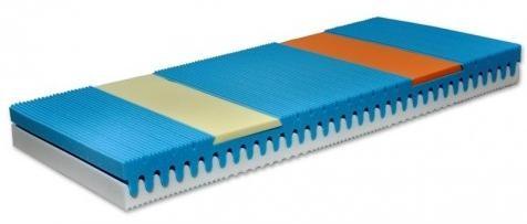 Komfortný matrac s pamätou, š/v/h: cca. 120x20x200 cm