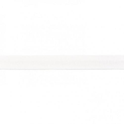 Lemovací prúžok úpletový biela