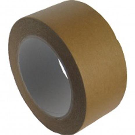 Lepiaca páska papierová, hnedá 50 m x 50 mm