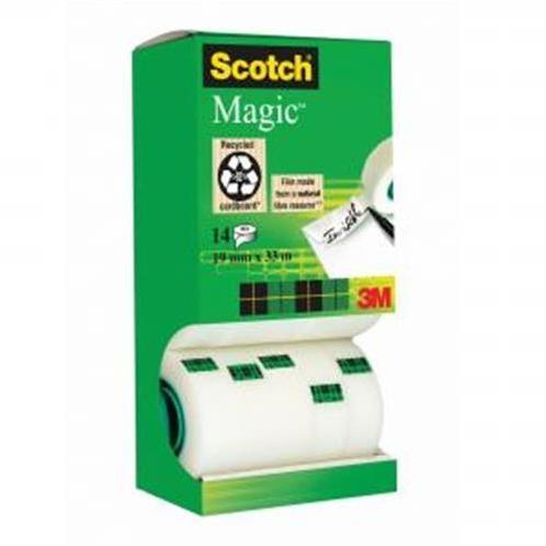 Lepiaca páska Scotch Magic 19mmx33m v krabičke 12+2 zdarma MM810014