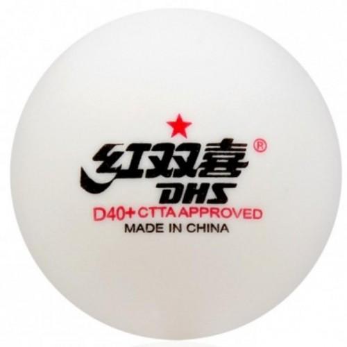 Loptičky na stolný tenis DOUBLE HAPPINES * cell free 10ks