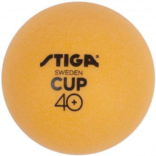 Loptičky na stolný tenis STIGA CUP ABS - oranžové 6ks