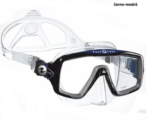 Maska TECHNISUB Ventura+ - čierno-modrá