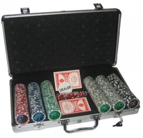MASTER Poker set 300 žetónov Deluxe
