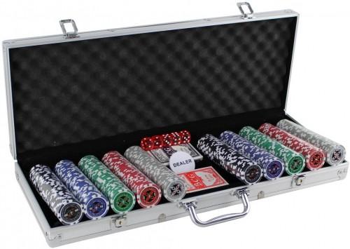 MASTER Poker set 500 žetónov Deluxe