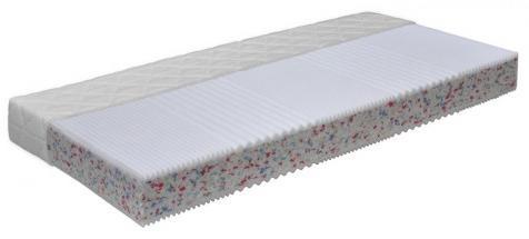 Matrace, Flexifoam, biela/relaxtic- stran, š/v/h: cca. 140x16x200 cm