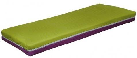 Medixo BT matrac,fialová/zelená, š/v/h: cca. 90x16x200 cm