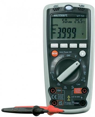 Multimeter VOLTCRAFT MT-52 5v1